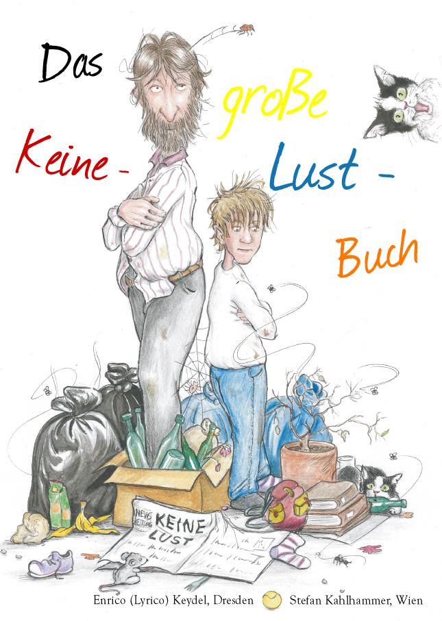 Das grosse Keine-Lust-Buch Cover ISBN 978-3-935259-23-1